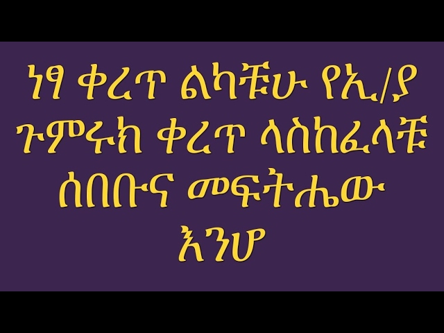 Information About  The Ethiopian Revenues and Customs Authority
