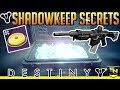 Destiny 2 Shadowkeep | Moon Secrets- Hidden Emblem, Khvostov Chest, Trove Knight & More