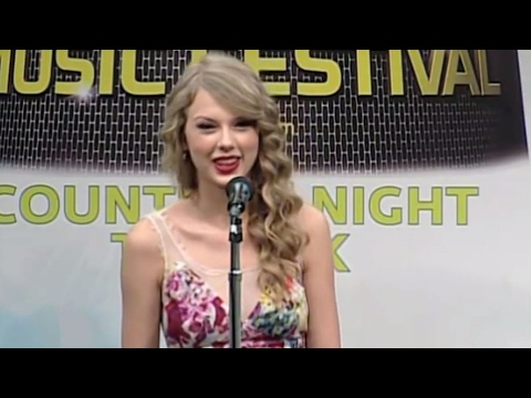 Taylor Swift on connecting with the crowd - CMA Music Festival TV Aug 14 on ABC!