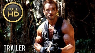 🎥 PREDATOR (1987) | Full Movie Trailer in Full HD | 1080p