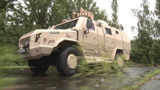 Rheinmetall Defence - Survivor R 4X4 Protected Multi-Role Vehicle [1080p]