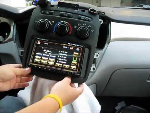 eBay Bought EONON DVD GPS Radio Gap Filler Installation on TOYOTA Highlander