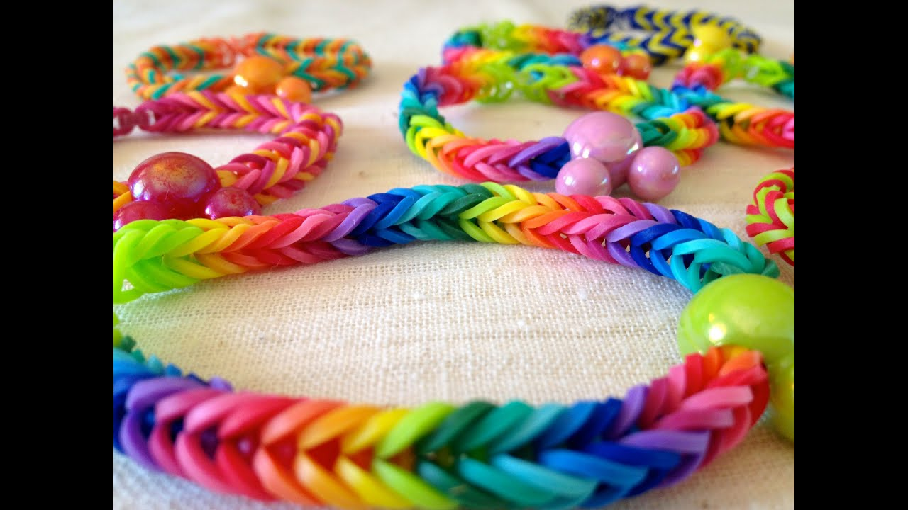 Fishtail Loom With Fingers Loom Fishtail Bracelet
