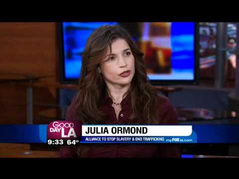 Julia Ormond on Good Day LA