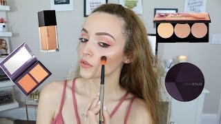 Full Face First Impressions | Trying NEW Makeup! by : KathleenLights