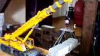 AMAZING RC CRANE TRUCK LIEBHERR LTM1100! BIG RC CRANE! RC CONSTRUCTION SIDE! RC LIVE ACTION TOYS!
