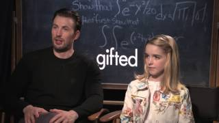 Chris Evans & McKenna Grace Gifted Interview