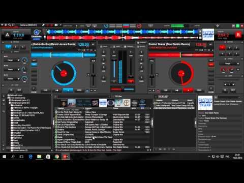 Как красиво и быстро сводить треки в VirtualDj 8