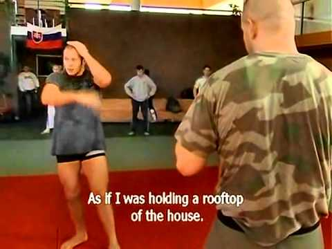 Fedor Teaches Standup Technique