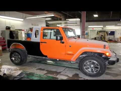 Custom Jeep Wrangler JK-8 (Truck Conversion)