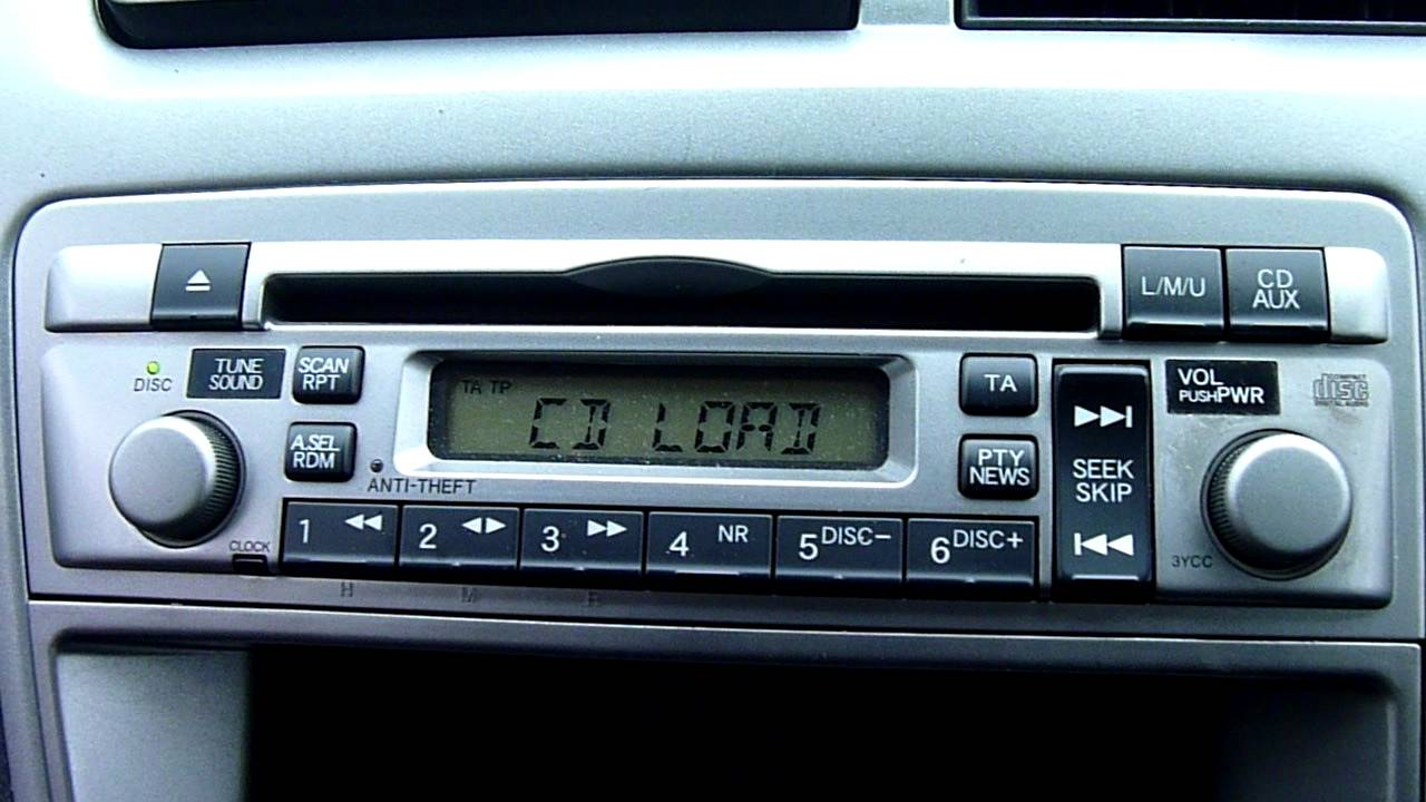 2005 HONDA CIVIC CD PLAYER/STEREO - YouTube