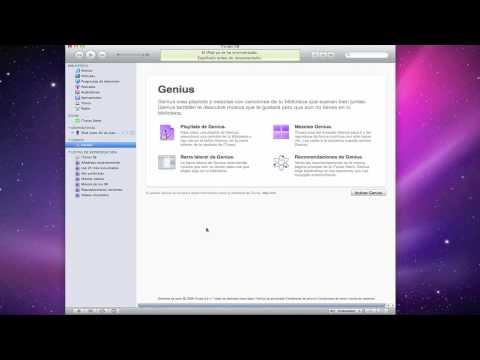 Configurar Genius en iTunes 9