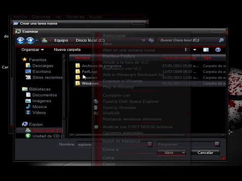 como reparar el explorer.exe de windows para no formatear.wmv