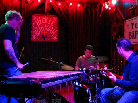 Doug Belote, Mike Dillon, and Charlie Hunter at Chickie Wah Wah, April 28, 2012