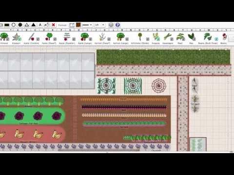 Using the Garden Planner to Plan a Vegetable Garden