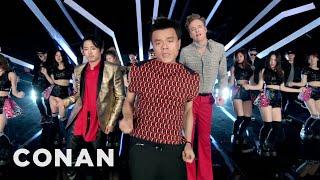 J.Y. Park Fire feat. Conan O'Brien & Steven Ye & Jimin Park