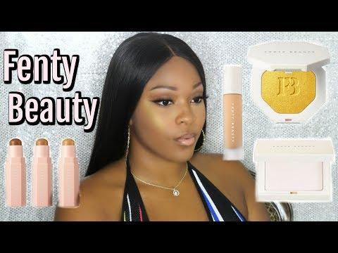 WTF Rihanna?? Fenty Beauty Makeup By Rihanna   First Impression Review   Full Face Tutorial