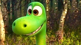 ХОРОШИЙ ДИНОЗАВР | Как создавался мультфильм | Видео (англ)[Мультик Pixar ]- Продолжительность: 87 секунд