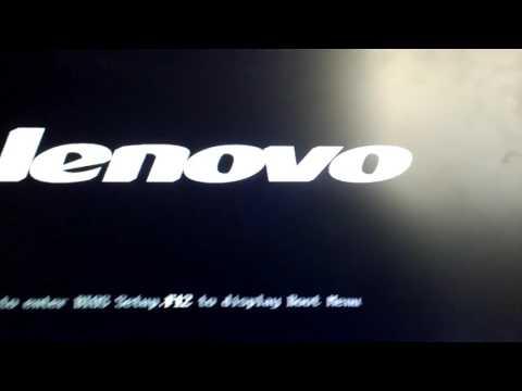 Como Restablecer a Estado de Fabrica All in one Lenovo C Series