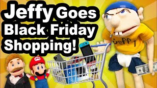 SML YTP: Jeffy Goes Black Friday Shopping!
