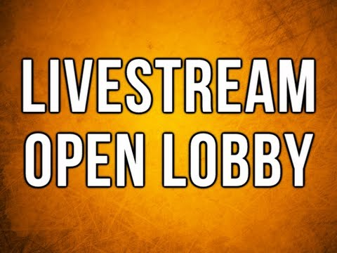 Black Ops 2 Live Stream & Open Lobby - NEVER RAGE QUIT!