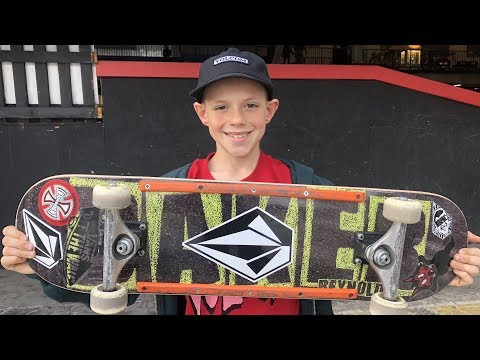 KRISTION INTERVIEW AND HIS BOARD SET UP !!! - NKA VIDS -