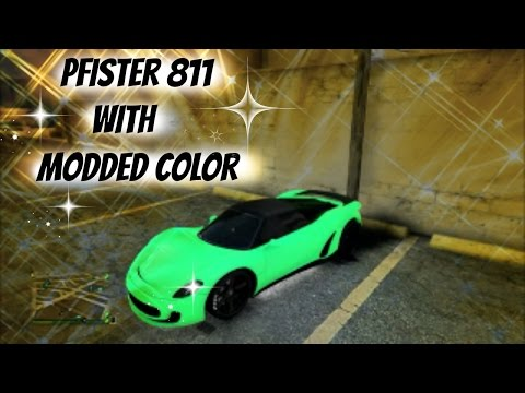new pfister 811 with modded color