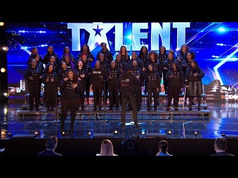 Britain's Got Talent 2018 B Positive Choir Full Audition S12E01