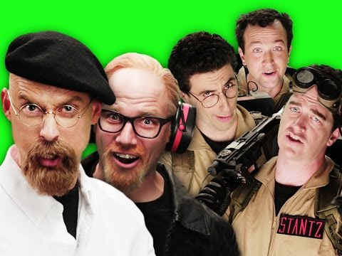 Ghostbusters Vs Mythbusters. Behind The Scenes Of Epic Rap Battles Of History video