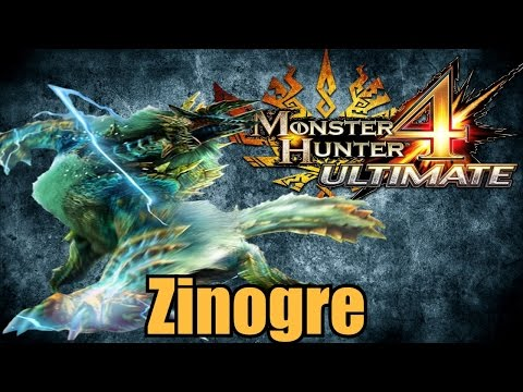 Monster Hunter 4 Ultimate - Zinogre