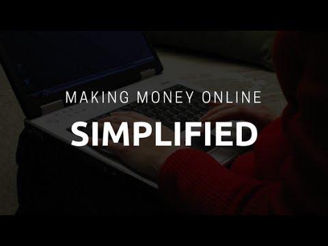Making Money Online In A Nutshell