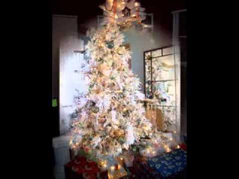 Themed White Christmas Trees White Christmas Tree