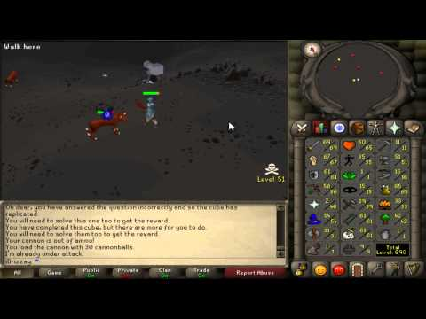 Old School Runescape Progress, Slayer in the Wilderness. Tips on How To Start Leveling Slayer.