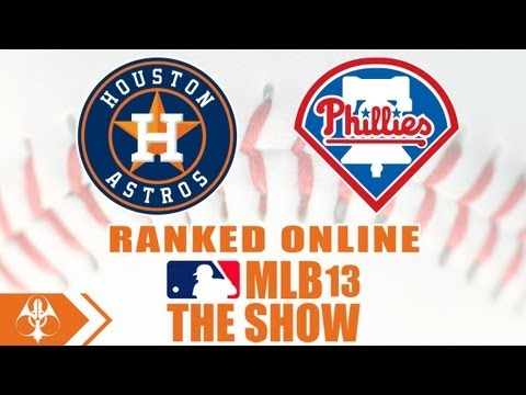 MLB 13 The Show Online Ranked - Houston Astros vs. Philadelphia Phillies