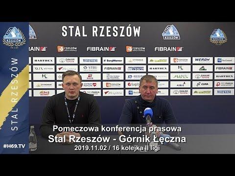 #H69.TV |KONFERENCJA| Stal Rzeszów - Górnik Łęczna |2019.11.02|