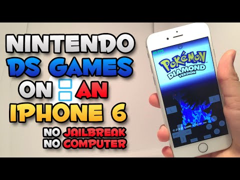 nds4ios: Nintendo DS Emulator on an iOS Device! (NO JAILBREAK) (SPEED TEST)