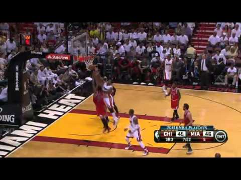NBA Playoffs Conference 2013: Chicago Bulls Vs Miami Heat Highlights May 6, 2013 Game 1