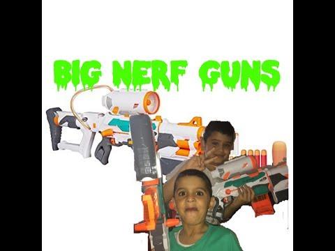 Special GUN FX (rocket launcher)| Big Nerf Guns modulus tri strike
