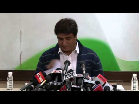 India Drives Polio Out of India: Raj Babbar at an AICC Briefing