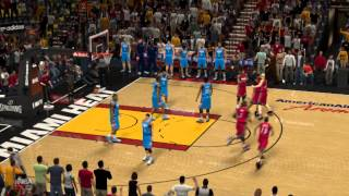 LeBron James Buzzer Beater NBA 2K13