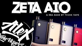 Билетбощина - Zeta AIO Kit & RBA Base by Think Vape l Alex VapersMD review 🚭🔞