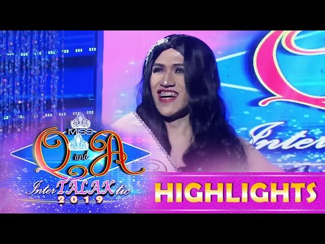 It's Showtime Miss Q & A: Arowana Grande wins the Beks in ChukChak award