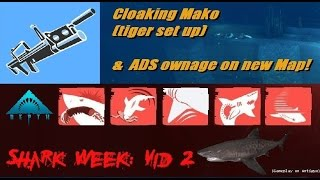Depth |Gameplay| Cloaking Mako and ADS ownage on new Map!