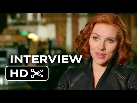 Avengers: Age of Ultron Interview - Scarlett Johansson (2015) - New Avengers Movie HD