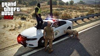 GTA 5 Roleplay - DOJ 208 - Friends with a Mountain Lion (Criminal)