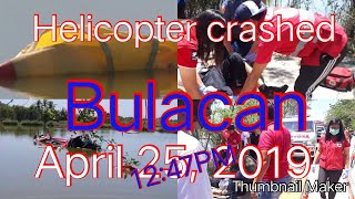 #helicopter #plane #crash #bulacan HELICOPTER CRASHED IN BULACAN(april 25, 2019)