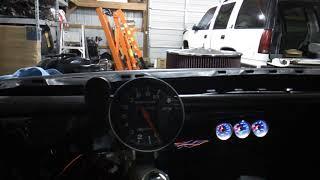 Auto Meter supercomp tach... Camaro drag car