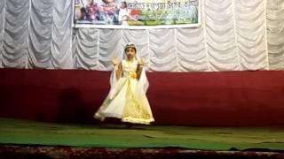 Dance performed on MOMER PUTUL MOMIR DESHER MEYE BY UPASANA SAHA.