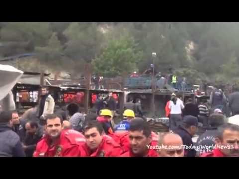 Turkey mine explosion: Scene on the ground in Soma