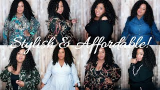 Part 2! RAINBOW PLUS SIZE TRY-ON HAUL | Cute & Affordable Dresses, Jackets, & Workwear!